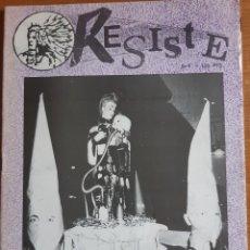 Colecionismo de Revistas e Jornais: RESISTE NÚMERO 5. Lote 285136143