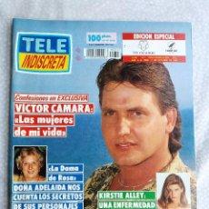 Coleccionismo de Revistas y Periódicos: REVISTA TELE INDISCRETA 347 VICTOR CAMARA DOÑA ADELAIDA KIRSTIE ALLEY IRINA RODRIGUEZ POBRE DIABLA. Lote 285333343