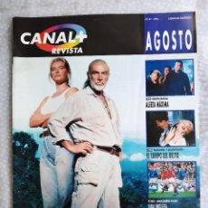 Coleccionismo de Revistas y Periódicos: REVISTA CANAL + 47 MADONNA SEAN CONNERY STEVEN SEAGAL KEVIN COSTNER PIN UP. VER FOTOS. Lote 285532568