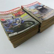 Coleccionismo de Revistas y Periódicos: COLECCION LOTE DE 76 NUMEROS DE LA REVISTA MOTOCICLISMO. Lote 285593018