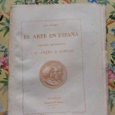 Collectionnisme de Revues et Journaux: AÑO 1862 REVISTA EL ARTE EN ESPAÑA CON GRABADOS Y LÁMINAS. Lote 285979793
