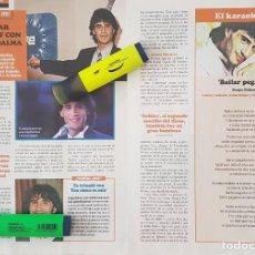 Coleccionismo de Revistas y Periódicos: REPORTAJE SERGIO DALMA.. Lote 286013348