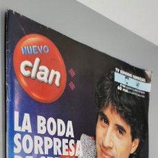 Coleccionismo de Revistas y Periódicos: CLAN TV, Nº 366, DE FEBRERO 1994. SERGIO DALMA, AL BANO Y ROMINA. VIAJAR NUEVA ZELANDA. BUEN ESTADO. Lote 286177468