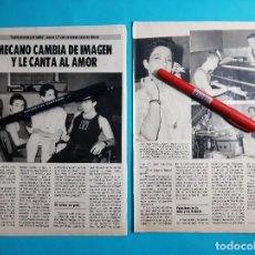 Collectionnisme de Revues et Journaux: MECANO- ANA- JOSE MARIA Y NACHO -ENTREVISTA- NUEVO LP ENTRE CIELO Y EL SUELO RECORTE 2 PAG.-AÑO 1986. Lote 286307953
