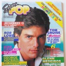 Collectionnisme de Revues et Journaux: REVISTA SUPER POP 283 MECANO GEORGE MICHAEL HOMBRES G MADONNA BON JOVI TOM CRUISE ALF KIRK CAMERON. Lote 286362963