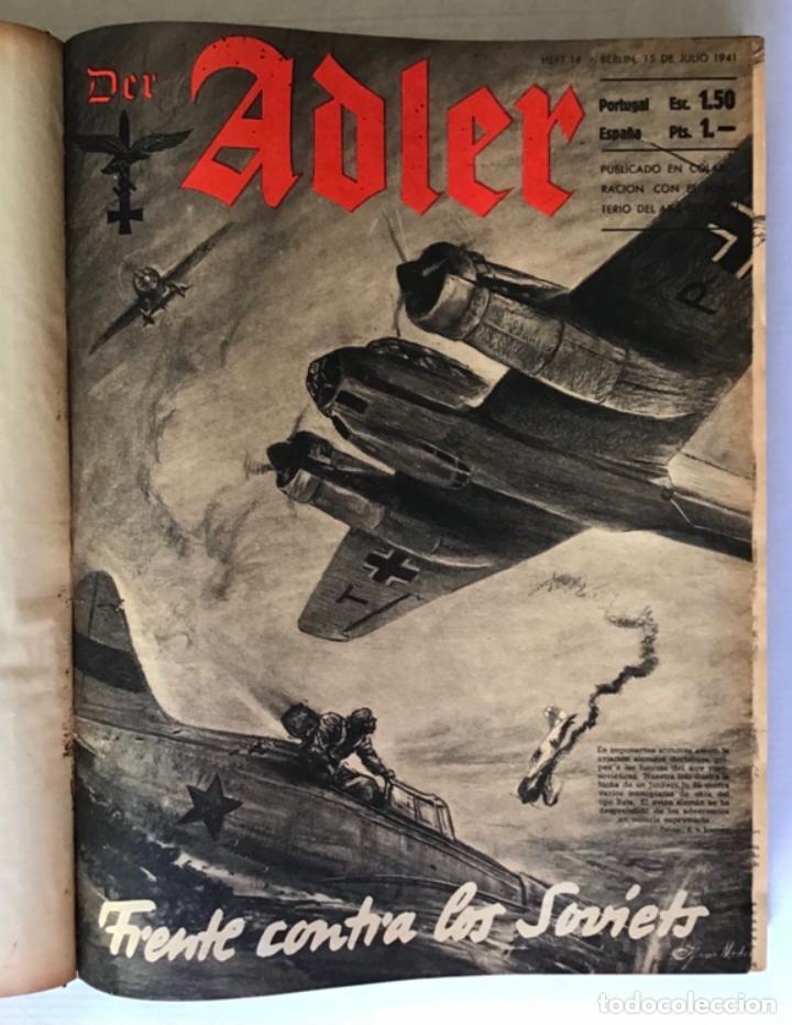 DER ADLER. - [REVISTA.] (Coleccionismo - Revistas y Periódicos Modernos (a partir de 1.940) - Otros)