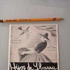 Collectionnisme de Revues et Journaux: PUBLICIDAD REVISTA ORIGINAL CIRCA 1938. HIJOS DE YBARRA ACEITE SEVILLA. Lote 286855318