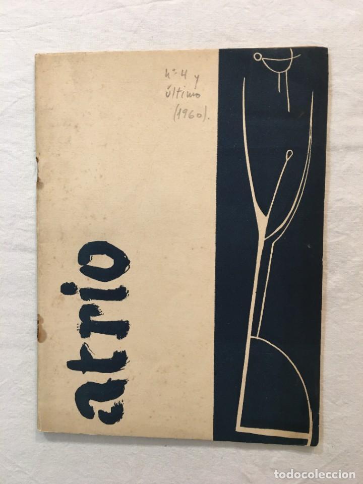 REVISTA ATRIO Nº 4 Y ÚLTIMO. FILOSOFÍA Y LETRAS. BARCELONA, 1960. (Coleccionismo - Revistas y Periódicos Modernos (a partir de 1.940) - Otros)