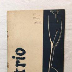 Coleccionismo de Revistas y Periódicos: REVISTA ATRIO Nº 4 Y ÚLTIMO. FILOSOFÍA Y LETRAS. BARCELONA, 1960.. Lote 286996488