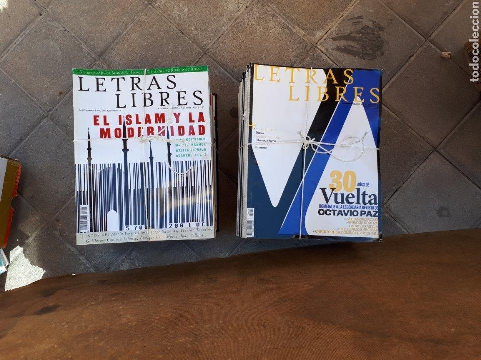 LETRAS LIBRES ( REVISTAS LITERARIAS ). LOTE DE 62 REVISTAS DEL N°2 AL 101. (Coleccionismo - Revistas y Periódicos Modernos (a partir de 1.940) - Otros)
