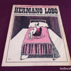 Colecionismo de Revistas e Jornais: 1973, HERMANO LOBO, SEMANARIO DE HUMOR, 28 DE JULIO. Lote 287097058