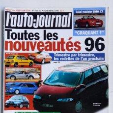 Coleccionismo de Revistas y Periódicos: REVISTA FRANCESA L'AUTO-JOURNAL, 1995, Nº 426. Lote 287185553