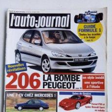 Coleccionismo de Revistas y Periódicos: REVISTA FRANCESA L'AUTO-JOURNAL, 1995, Nº 406. Lote 287185608