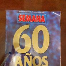 Coleccionismo de Revistas y Periódicos: REVISTA SEMANA - 60 AÑOS. Lote 287488148