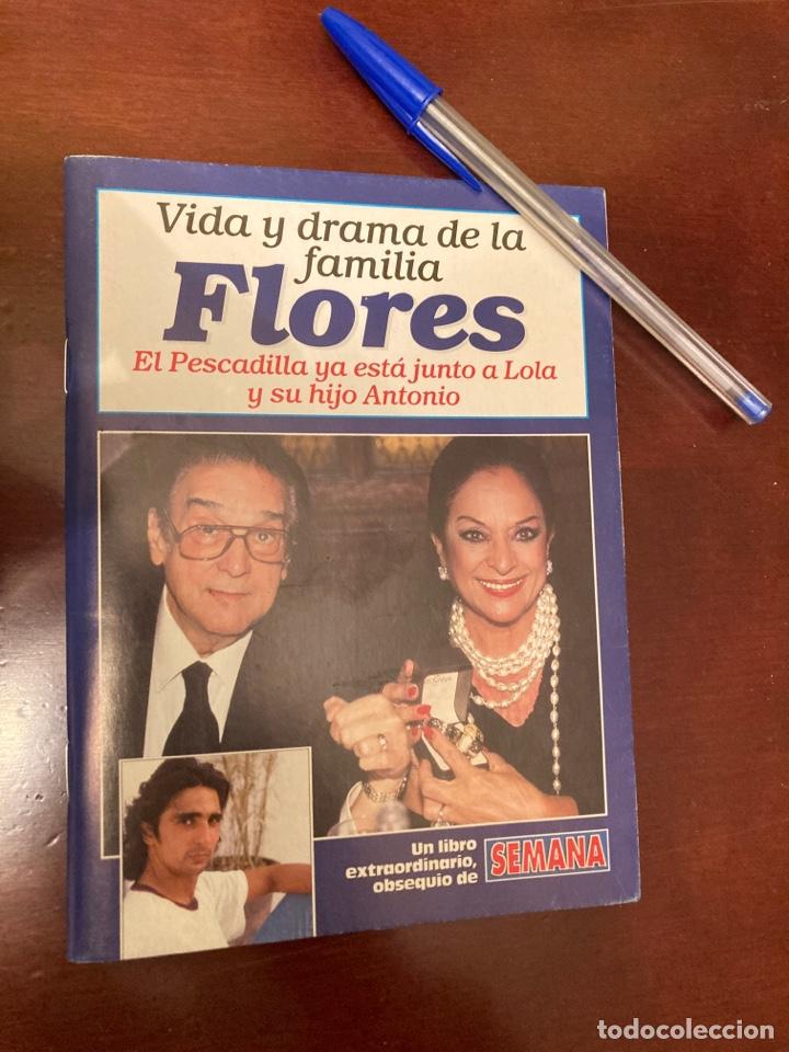 SEMANA - VIDA Y DRAMA DE LA FAMILIA FLORES (Coleccionismo - Revistas y Periódicos Modernos (a partir de 1.940) - Otros)