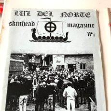 Coleccionismo de Revistas y Periódicos: ANTIGUA FANZINE COLECCIONISMO,SKINHEAD,LUZ DEL NORTE,BRIGADAS BLANQUIAZULES,BASES AUTONOMAS NR NS. Lote 287490848