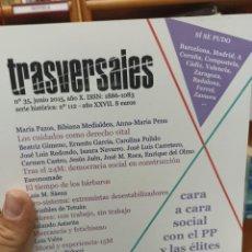 Coleccionismo de Revistas y Periódicos: REVISTA TRASVERSALES N.35. Lote 287540883