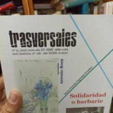 Coleccionismo de Revistas y Periódicos: REVISTA TRASVERSALES N.51. Lote 287541143
