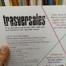 Coleccionismo de Revistas y Periódicos: REVISTA TRASVERSALES N. 49. Lote 287541228