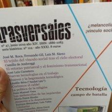 Coleccionismo de Revistas y Periódicos: REVISTA TRASVERSALES N. 47. Lote 287541328