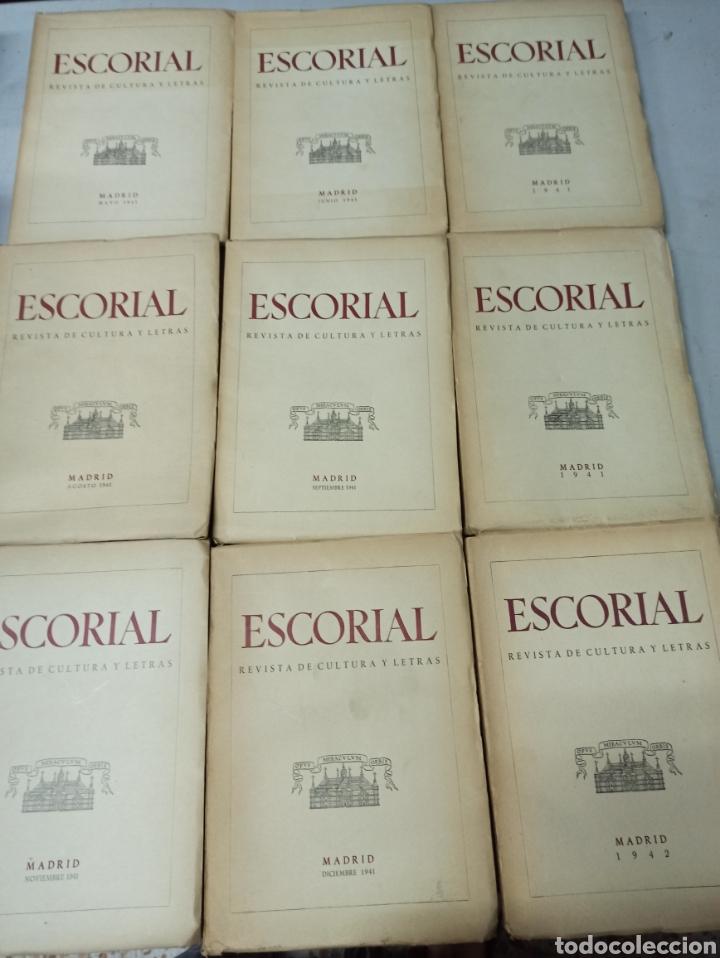 Coleccionismo de Revistas y Periódicos: ESCORIAL, REVISTA DE CULTURA Y LETRAS. 1940-1949. Colección casi completa, de n° 1 a 64, falta n° 65 - Foto 4 - 287553888