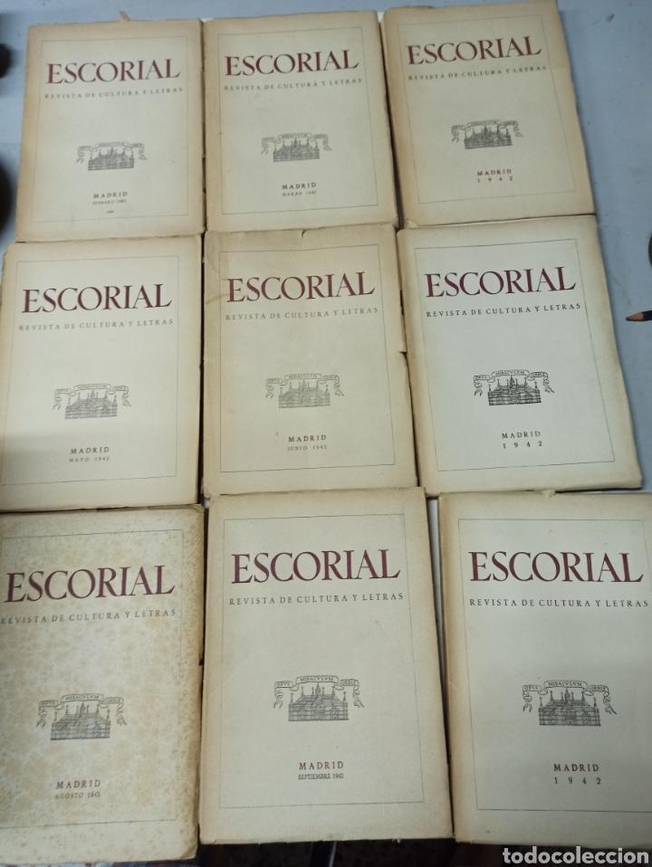 Coleccionismo de Revistas y Periódicos: ESCORIAL, REVISTA DE CULTURA Y LETRAS. 1940-1949. Colección casi completa, de n° 1 a 64, falta n° 65 - Foto 12 - 287553888