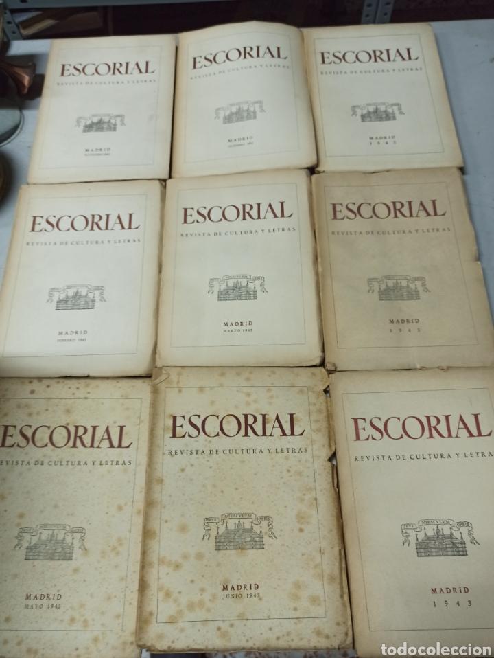 Coleccionismo de Revistas y Periódicos: ESCORIAL, REVISTA DE CULTURA Y LETRAS. 1940-1949. Colección casi completa, de n° 1 a 64, falta n° 65 - Foto 18 - 287553888