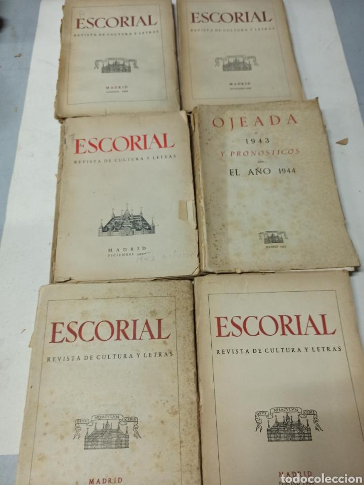 Coleccionismo de Revistas y Periódicos: ESCORIAL, REVISTA DE CULTURA Y LETRAS. 1940-1949. Colección casi completa, de n° 1 a 64, falta n° 65 - Foto 21 - 287553888
