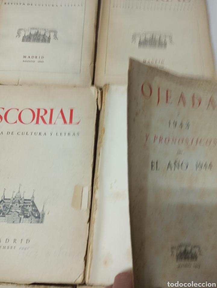 Coleccionismo de Revistas y Periódicos: ESCORIAL, REVISTA DE CULTURA Y LETRAS. 1940-1949. Colección casi completa, de n° 1 a 64, falta n° 65 - Foto 24 - 287553888