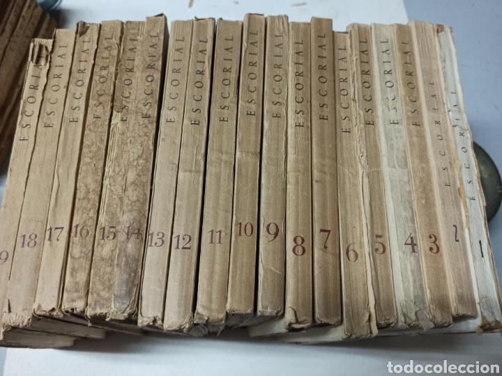 ESCORIAL, REVISTA DE CULTURA Y LETRAS. 1940-1949. COLECCIÓN CASI COMPLETA, DE N° 1 A 64, FALTA N° 65 (Coleccionismo - Revistas y Periódicos Modernos (a partir de 1.940) - Otros)