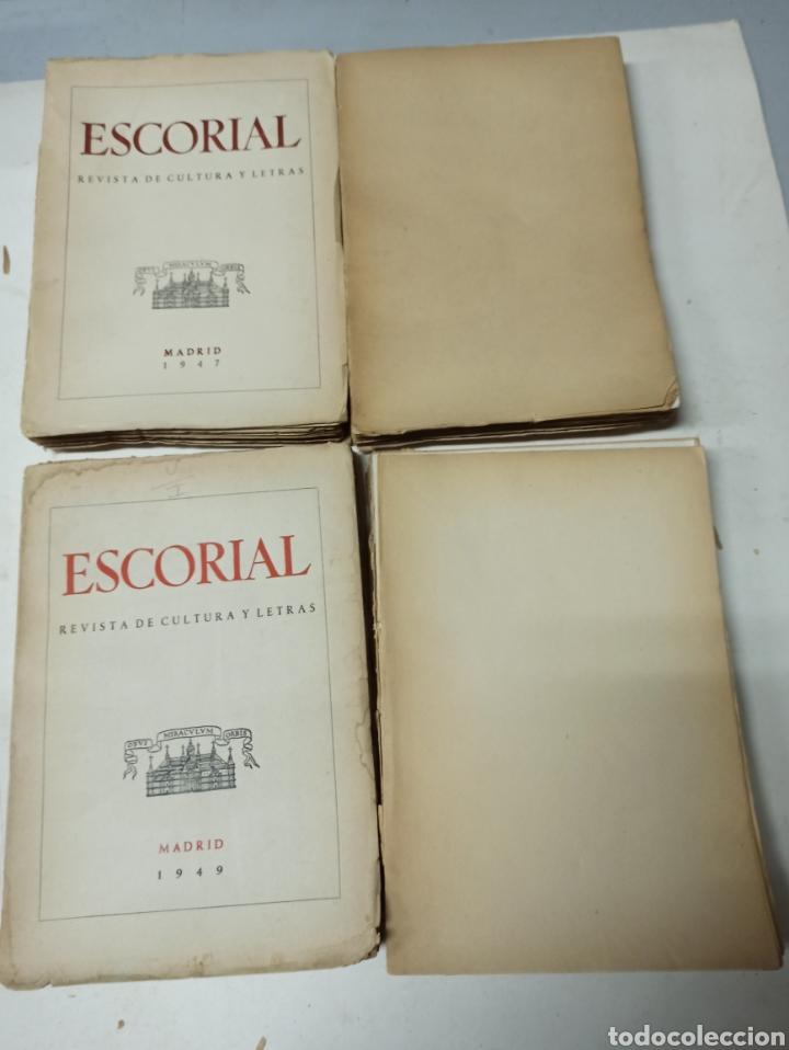 Coleccionismo de Revistas y Periódicos: ESCORIAL, REVISTA DE CULTURA Y LETRAS. 1940-1949. Colección casi completa, de n° 1 a 64, falta n° 65 - Foto 36 - 287553888