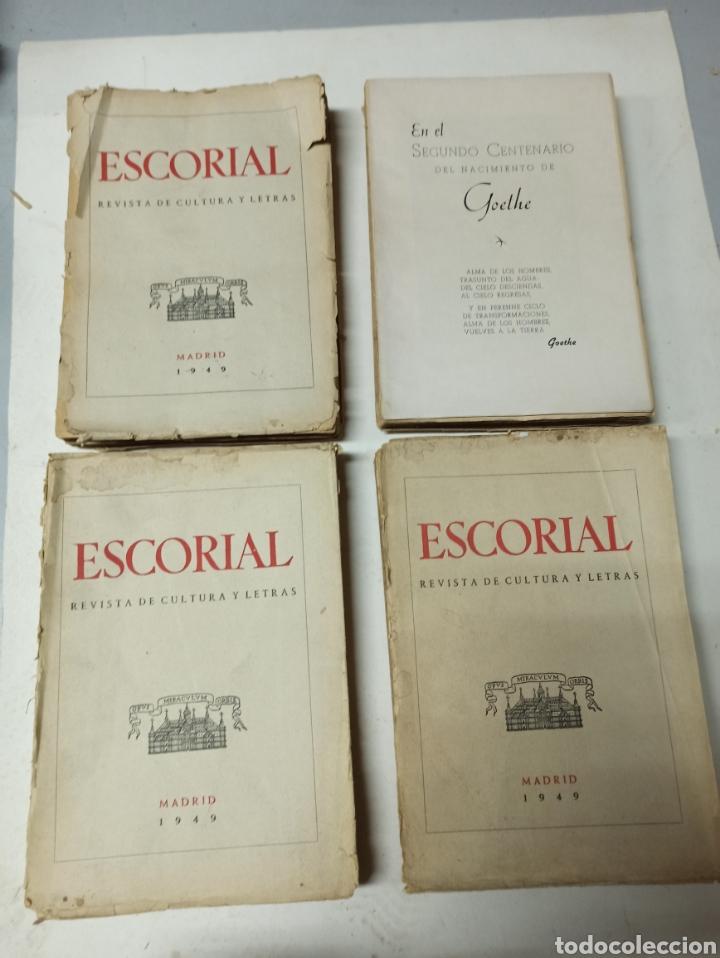 Coleccionismo de Revistas y Periódicos: ESCORIAL, REVISTA DE CULTURA Y LETRAS. 1940-1949. Colección casi completa, de n° 1 a 64, falta n° 65 - Foto 38 - 287553888