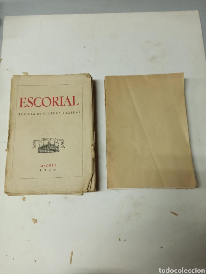 Coleccionismo de Revistas y Periódicos: ESCORIAL, REVISTA DE CULTURA Y LETRAS. 1940-1949. Colección casi completa, de n° 1 a 64, falta n° 65 - Foto 40 - 287553888