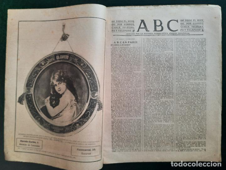 Coleccionismo de Revistas y Periódicos: ABC N⁰ 4247 06-FEBRERO 1917 - I GUERRA MUNDIAL (VER FOTOS). LA AVIACIÓN EN LA GUERRA. - Foto 2 - 287674338