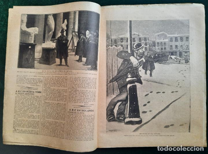 Coleccionismo de Revistas y Periódicos: ABC N⁰ 4247 06-FEBRERO 1917 - I GUERRA MUNDIAL (VER FOTOS). LA AVIACIÓN EN LA GUERRA. - Foto 3 - 287674338