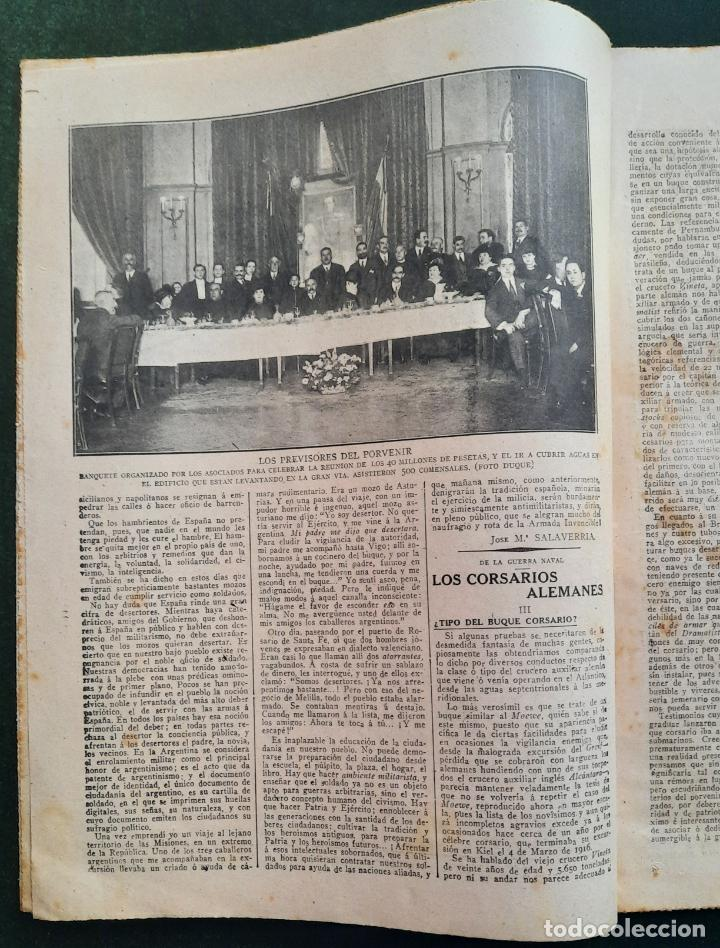 Coleccionismo de Revistas y Periódicos: ABC N⁰ 4246 05-FEBRERO 1917 - I GUERRA MUNDIAL (VER FOTOS). EN EL FRENTE DE ALSACIA. - Foto 3 - 287674918