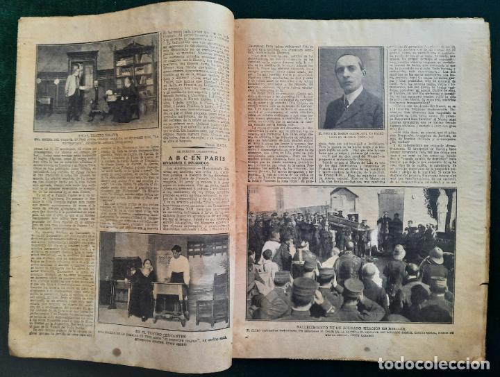 Coleccionismo de Revistas y Periódicos: ABC N⁰ 4245 04-FEBRERO 1917 - I GUERRA MUNDIAL (VER FOTOS). EL SUBMARINO ISAAC PERAL. - Foto 3 - 287675413