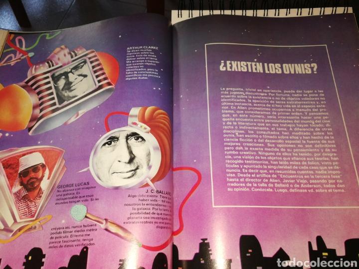 Coleccionismo de Revistas y Periódicos: REVISTA ALIEN CON POSTER 65X30 EL MUNDO DE LA CIENCIA Y SOBRE NATURAL - Foto 3 - 287689948