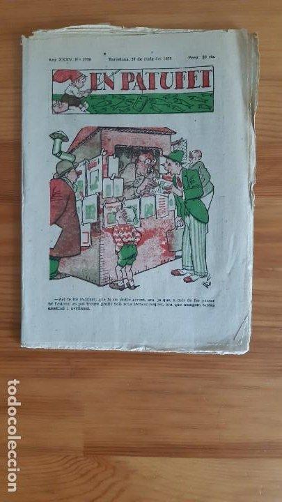 REVISTA. EN PATUFET. AÑO 1938 - XXXV. Nº1779 (Coleccionismo - Revistas y Periódicos Antiguos (hasta 1.939))