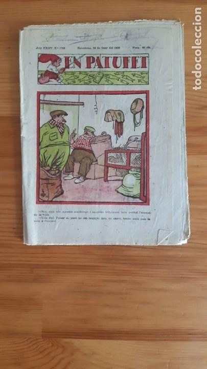 REVISTA. EN PATUFET. AÑO 1938 - XXXV. Nº1783 (Coleccionismo - Revistas y Periódicos Antiguos (hasta 1.939))