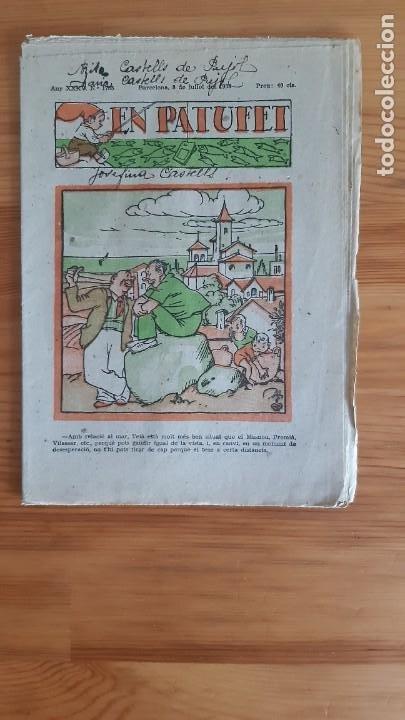 REVISTA. EN PATUFET. AÑO 1938 - XXXV. Nº1785 (Coleccionismo - Revistas y Periódicos Antiguos (hasta 1.939))