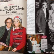 Coleccionismo de Revistas y Periódicos: WOODY ALLEN MIA FARROW. Lote 287722953