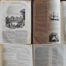 Coleccionismo de Revistas y Periódicos: SEMANARIO PINTORESCO ESPAÑOL: N 35, 28 DE AGOSTO. PALACIO DE LUXEMBURGO. CALLES Y CASAS DE MADRID. Lote 287723218