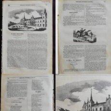 Coleccionismo de Revistas y Periódicos: SEMANARIO PINTORESCO ESPAÑOL: Nº 36, 4 SEPTIEMBRE 1855: CALLE ATOCHA EN EL SIGLO XIX GRABADO. ARRABA. Lote 287723478