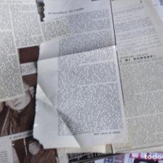 Coleccionismo de Revistas y Periódicos: RECORTES CLIPPING ORIGINALES -ES MI HOMBRE- SOLEDAD MIRANDA. Lote 287782493
