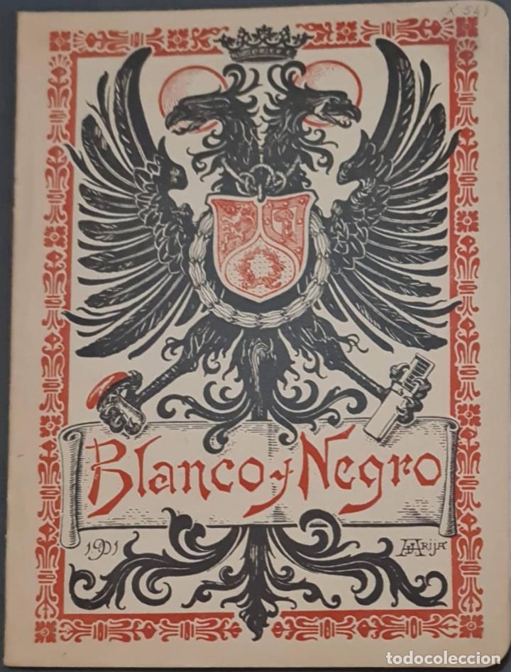 REVISTA BLANCO Y NEGRO Nº 549. MADRID, 9 NOVIEMBRE 1901 (Coleccionismo - Revistas y Periódicos Antiguos (hasta 1.939))
