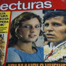 Collectionnisme de Revues et Journaux: EL CORDOBES MODA CHARLTON HESTON RIKA ZARAI BRIGITTE BARDOT JANE BIRKIN LECTURAS 1971. Lote 287784073