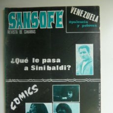 Coleccionismo de Revistas y Periódicos: SANSOFE. REVISTA DE CANARIAS. Nº 105. FEBRERO 1972. Lote 287876148