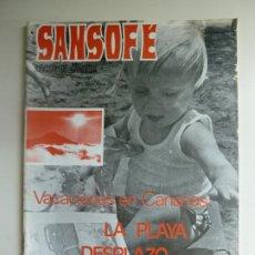 Coleccionismo de Revistas y Periódicos: SANSOFE. REVISTA DE CANARIAS. Nº 76. JULIO 1971. Lote 287876293