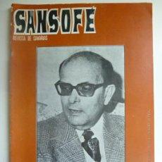Coleccionismo de Revistas y Periódicos: SANSOFE. REVISTA DE CANARIAS. Nº 111. ABRIL 1972. Lote 287876513